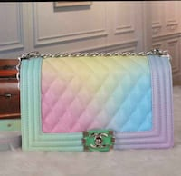 pink and blue leather wallet Baltimore, 21207