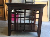Brown living room end table Las Cruces, 88011