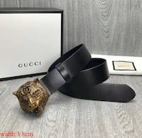Cinturon Gucci Brown Leather Matt   BASAURI