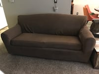 Nice hide a bed couch with slipcover Seattle, 98115