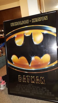 Batman framed movie poster Puyallup, 98371