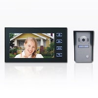 7 inch Hands free color video doorphone Richmond Hill, L4S 2P2
