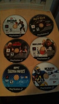 Ps2 games. $10 each. Great condition!  Hollywood