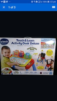 VTech Touch and Learn Activity Desk Deluxe (NEW) Quincy, 02169