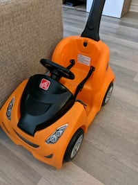 Step2 Push around Buggy Gt (orange)  (less then 2 months of use) Brampton, L7A 0A7