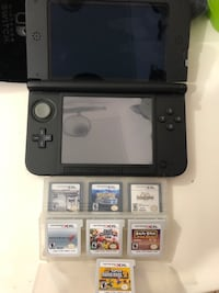 Nintendo 3DS XL with 7 Games. Bundle deal! Kapolei, 96707