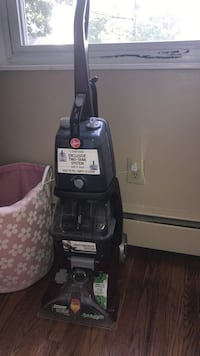 black and gray upright vacuum cleaner Laurel, 20723