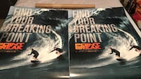 Point brake movie posters and tube  Bryan, 77807