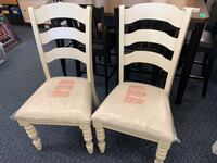 New Pair of Beige & Cream Dining Chairs Virginia Beach, 23462