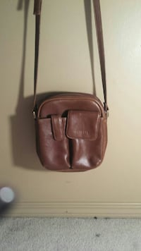 women's brown leather sling bag Calgary, T2A 3K9
