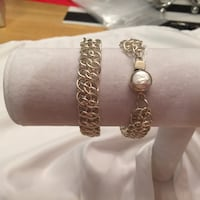 Sterling silver bracelet with Mother of Pearl Calgary, T2W 3P3