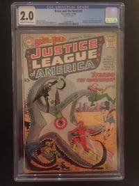 Brave and The Bold 28 CGC 2.0 Comic Book (1st Justice League) Mississauga, L5B 0H3