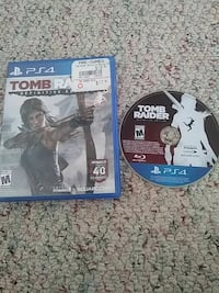 Sony PS4 tomb raider definitive edition  game disc