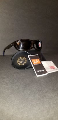 New Ray Ban Polarized Sunglasses RB4188 Brown UV Protection Case