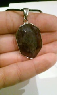 """18"""" Amethyst wrapped pendant necklace Palmdale, 93552"""
