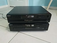 two Sony CD players ex change systems  Naples, 34116