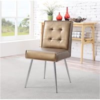 Ave Six, Amity Dining Chair, Sizzle Cooper | SKU# 46019 Santa Fe Springs