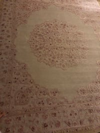Pale pink and ivory 7x9 area rug Ashburn, 20176