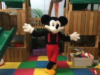 Mickey Mouse costume null