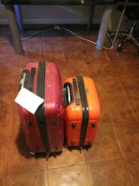 One small and one large suite case