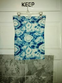 blue and white sleeveless  top Rocky Mount, 27804