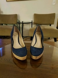 Women's size 7 and a half wedge cork shoes Eatontown, 07724