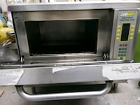Commerical ovens and microwave also hotdog roller