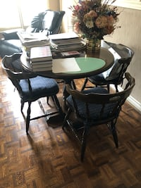 Wood table and chairs Vaughan, L4J 7M3