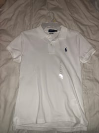 white Ralph Lauren polo shirt Foley, 36535