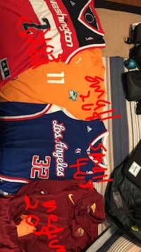 assorted NBA basketball jersey's Montréal, H1S 1N8