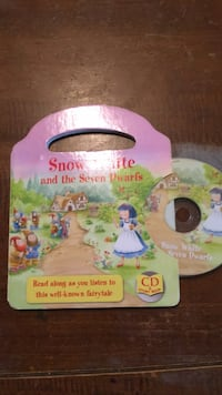 Snow White and the Seven Dwarfs book and CD brand new Oklahoma City, 73109