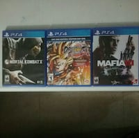 3 PS4 games (Pick Up Only) New York, 10026