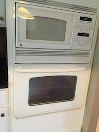 white General Electric induction range oven Northville township, 48168