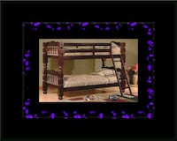 Twin wooden bunkbed frame Alexandria, 22305