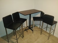 42 inch bar top and bar stools