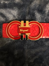 Red ferragamo belt Bowie, 20715