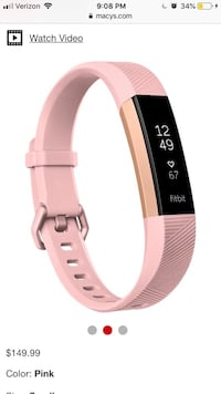 Fitbit Alta HR Heart Rate& Fitness Wristband Alexandria, 22301
