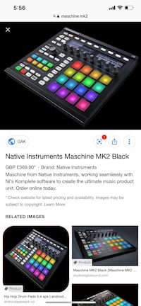 Maschine MK2 lightly Used- Perfect condition.