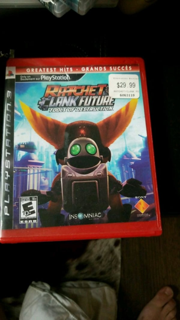 Used Ratchet Clank Tools Of Destruction Ps4 Game Case For Sale