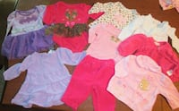 Girl's 0-3 month Clothes Lot