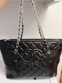 black leather Chanel tote bag Oceanside, 92058