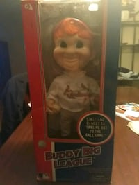 Buddy Big League doll with box St. Louis, 63146