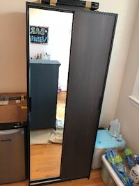 Mirror Wardrobe Armoire Washington