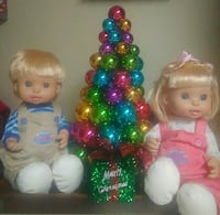Collectible Rare Too Cute Twin Interactive Dolls.