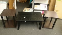 Coffee table & 2 end tables $35 1203 mi