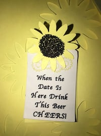 Personalized party tags start at $5/dozen Ceres