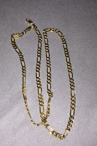 """Gold filled Figaro link 20"""" chain"""