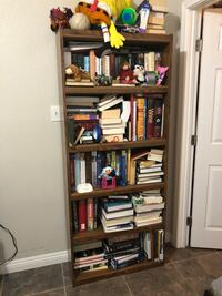 Book shelf case storage wood Oxnard, 93033