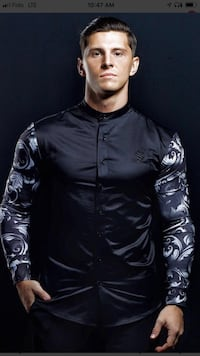 «SARMAN» men's long sleeves t-shirt for sale Montreal, H3H