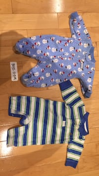 Gymboree and GAP baby boy clothes 0-3 months Mississauga, L5V 1J3